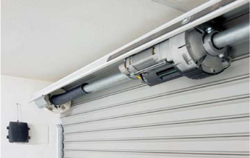 Puertas enrollables sistemas levadizos lopez sistemas - Automatizacion de puertas ...